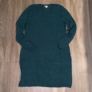 Green Sweater Dress NEVER WORN